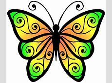 Clipart Butterfly 4 Free Stock Photo - Public Domain Pictures Free Clipart Downloads Butterflies