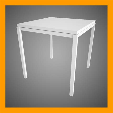 Melltorp Table by 3d Model Melltorp Table