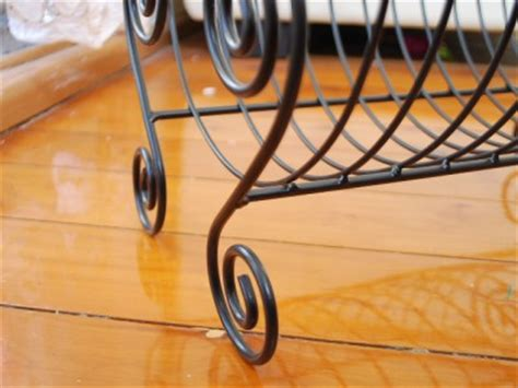 Fist Plate Hairstyle | metal french style scroll plate drainer dish rack ebay