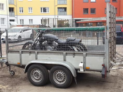 Anh Nger Mieten Cottbus by Motorradtransport Vermiete Pkw Anh 228 Nger 2 To Mit
