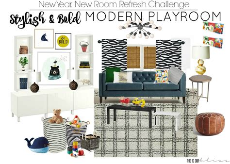 modern playroom furniture stylish bold modern playroom new year new room this