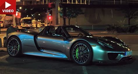 Porsche 918 Electric by Testing Porsche 918 Spyder S All Electric Driving Range In