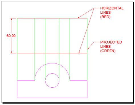 autocad tutorial orthographic orthographic projection