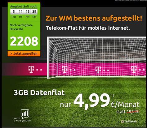 wann darf ich kündigen datenflat mit 3 gb hotspot flat im telekom netz f 195 188 r 5