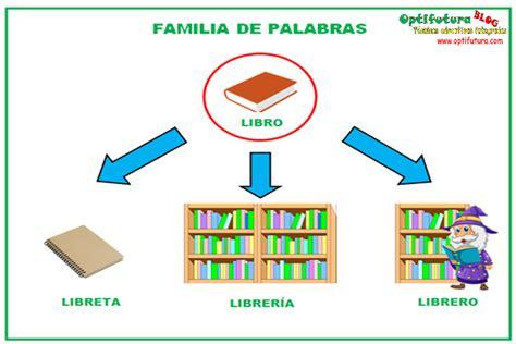 librero familia de palabras el co sem 225 ntico y la familia de palabras 193 rea lengua
