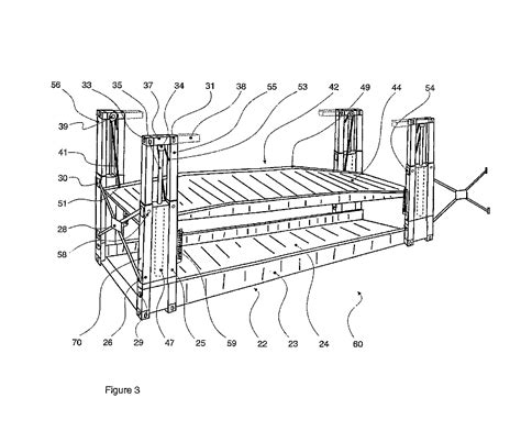 patent us20070206999 collapsible flat rack patents