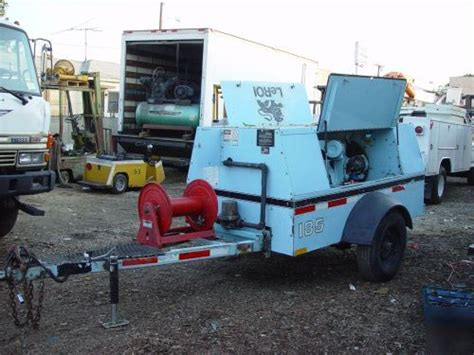 leroi 185 towable air compressor q185dj e q185dj