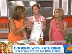 what products does hoda kotb use on her hair katherine heigl enjoys a mango margarita with kathie lee