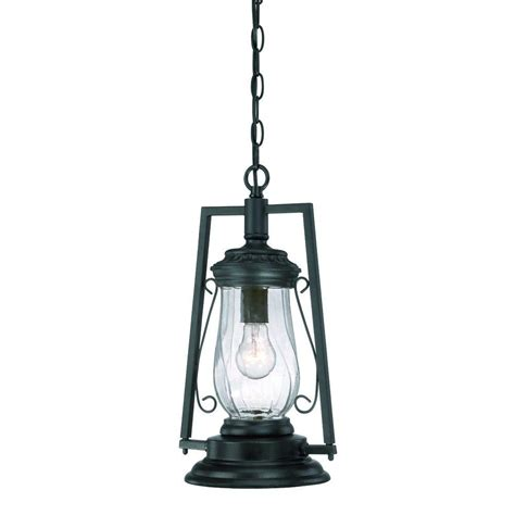 Outdoor Hanging Lantern Light Fixtures Acclaim Lighting Kero Collection 1 Light Matte Black Outdoor Hanging Lantern Light Fixture