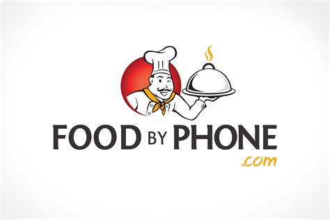 Food Logo Design food by phone logo design asia media studio