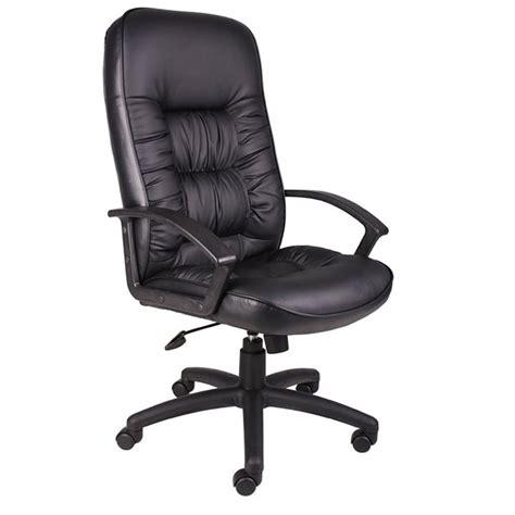 high back leatherplus chair bosschair