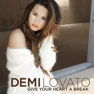 demi lovato heart attack genre give your heart a break wikipedia