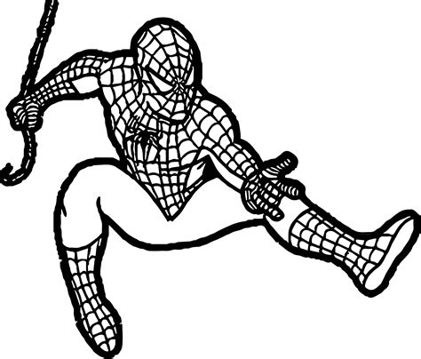 baby spider coloring page baby spiderman spideys web teaches about tensile strength