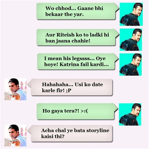 salman khan mobile number salman khan s whatsapp review of humshakals my instant