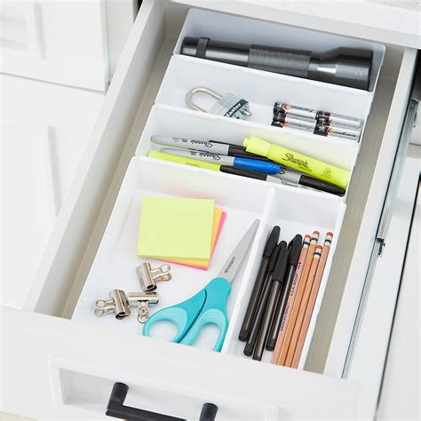 rubbermaid interlocking drawer organizers the container