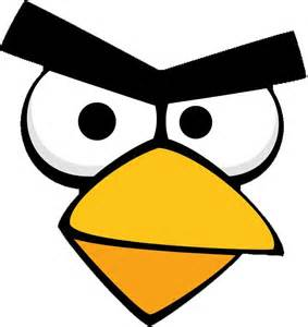 angry bird mask template angry bird template for sticking onto bags