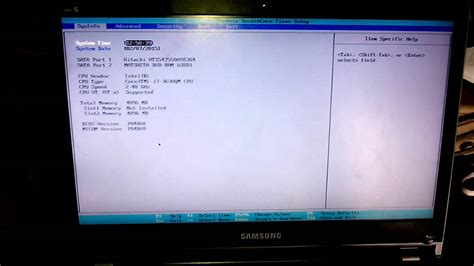 reset bios notebook samsung como entrar na bios setup do notebook series 5 da samsung