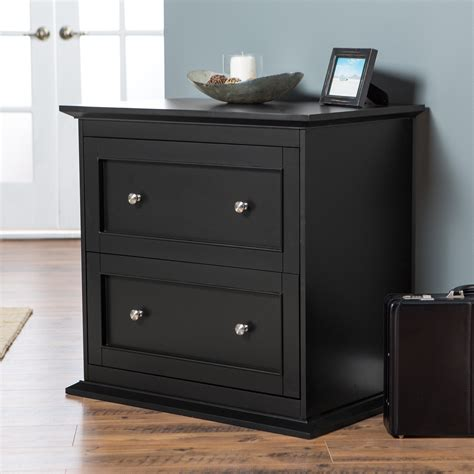 lateral file cabinet black black lateral file cabinet 2 drawer belham living hton