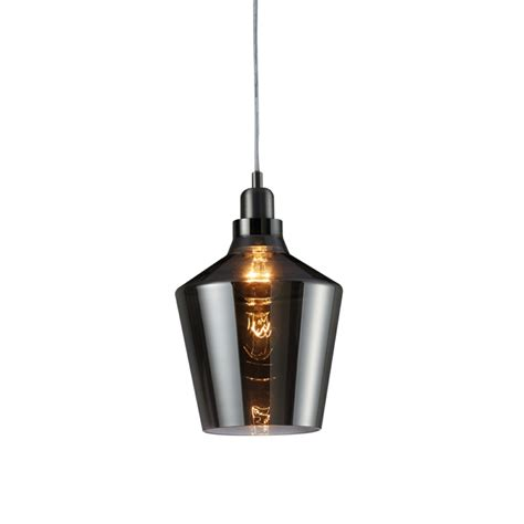 smoked glass pendant light calais pendant ceiling light smoked glass