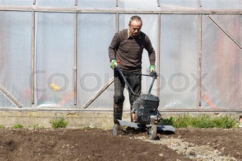 Garten Grubber Stockfoto Colourbox
