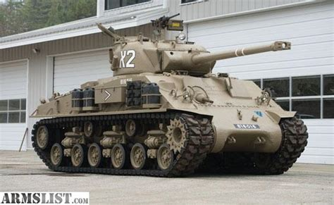 ARMSLIST - For Sale: $50.000 T50 SHERMAN TANK Ww2 Sherman Tanks For Sale