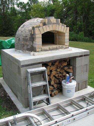build wood fired pizza oven your backyard 1000 images about fireplaces firepits and pizza ovens on