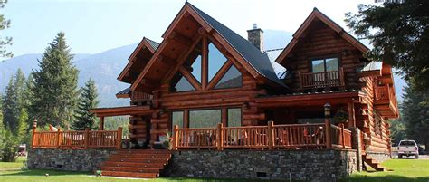 montana log homes amish log builders meadowlark log