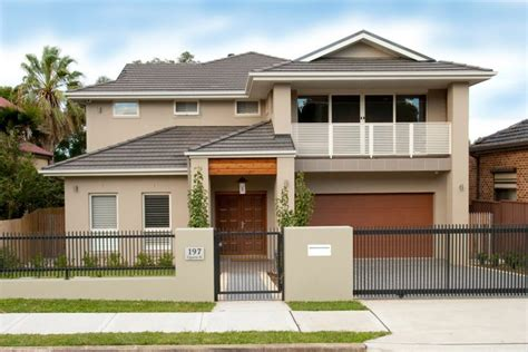Ranch Homes Designs by Modern Front Fence All Scape