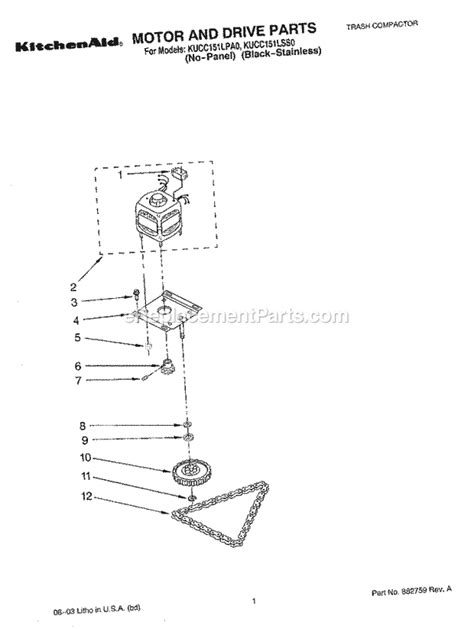 Kitchenaid Order Status Kitchenaid Kucc151lpa0 Parts List And Diagram
