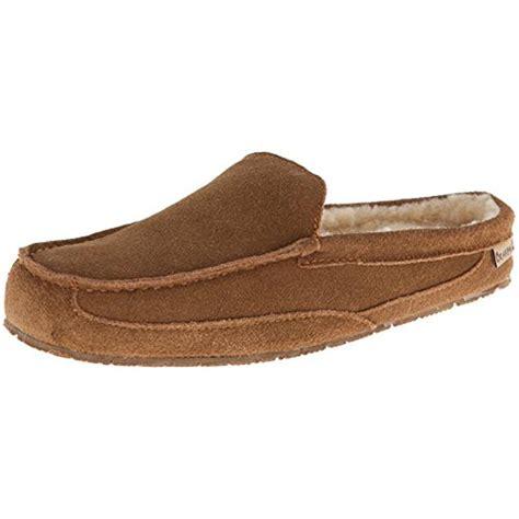bearpaw mens slippers bearpaw 9344 mens gale suede wool mule slippers shoes bhfo