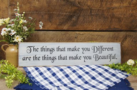 7 Things That Make You Beautiful the things that make you different are the things that