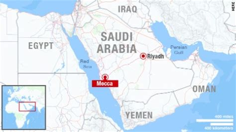 where is mecca on a world map stede kills hundreds at hajj pilgrimage in mecca cnn