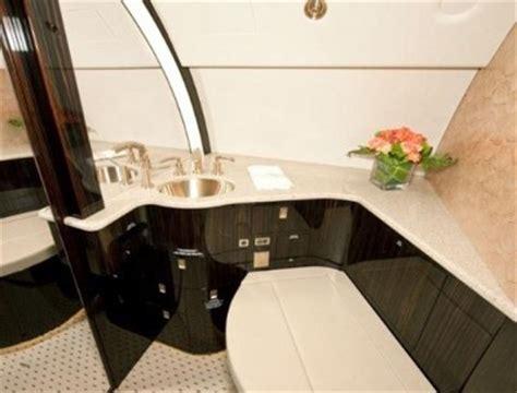 private plane bathroom will gaddafi escape from libya on this plush private jet