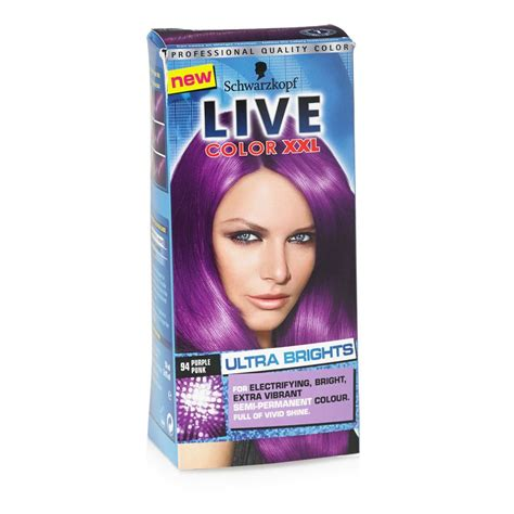 Schwarzkopf Live Hair Color schwarzkopf live color ultra brights purple 94 i