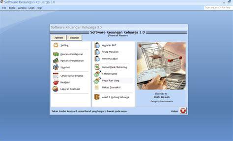 Software Aplikasi Keuangan Keluarga 1 keuangan keluarga 3 0 sotware manajemen usaha