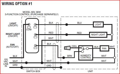 bathroom exhaust fan installation instructions nutone exhaust fan wiring diagram wiring diagram with