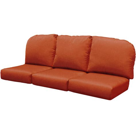 replacement cushions for sofa seats north cape wicker port royal three seat couch replacement
