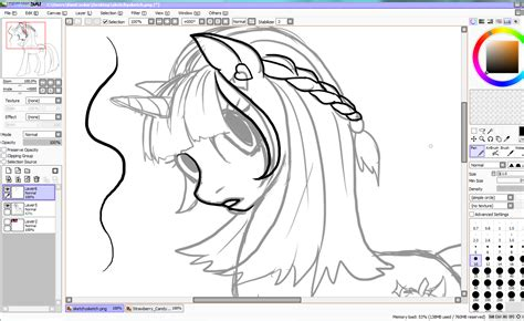 paint tool sai tutorial mlp artwork by kimicookie paint tool sai tutorial my