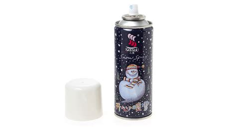 snow in a spray can 3 04 220ml snow spray can window decoration at