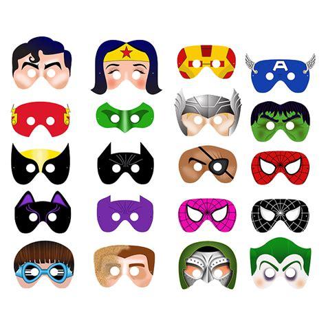 printable super heroes mask 20 printable superhero masks 28 craft pinterest