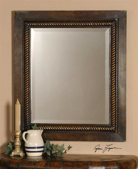 Uttermost Mirrors Sale by Uttermost Tanika 28 X 32 Rope Wall Mirror Ut13149b