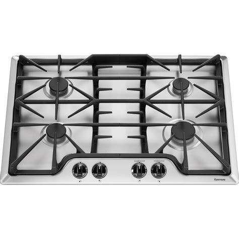 30 Cooktop Gas Kenmore 32533 30 Quot Gas Cooktop Stainless Steel