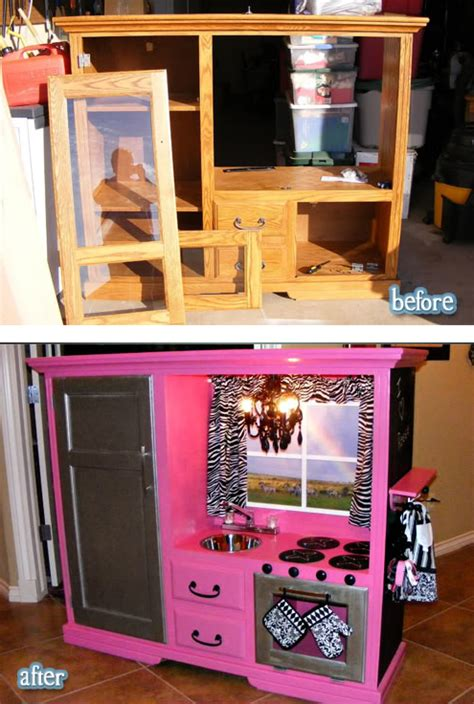 Upcycle Us: An other furniture upcycled into kids kitchen