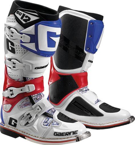 gaerne sg12 motocross 629 95 gaerne mens sg 12 sg12 motocross boots 260187