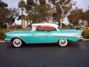 57 chevy bel air cars