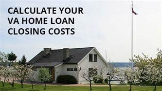 va loan closing costs 2016 what does the veteran pay