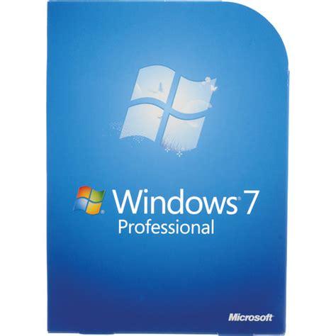 Microsoft Windows 7 Professional microsoft windows 7 professional 32 or 64 bit fqc 00129 b h