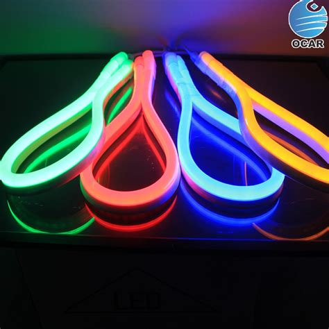 Lu Led Neon Flex color changing smd5050 rgb led neon flex light