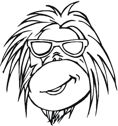 free coloring pages of cartoon animals free coloring pages of cartoon jungle animals