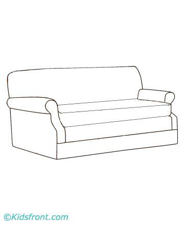 sofa drawing drawing sofa